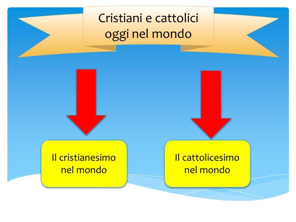Cristiani e cattolici oggi nel mondo