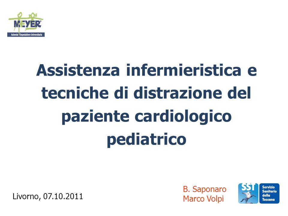 Assistenza infermieristica e tecniche di distrazione del paziente cardiologico pediatrico