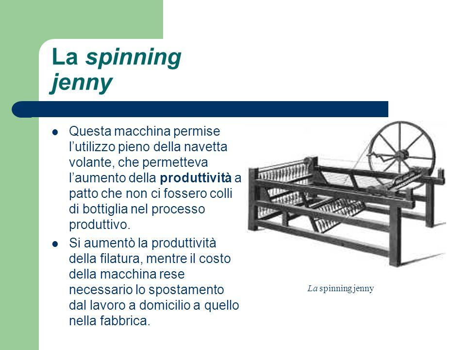 La spinning jenny.