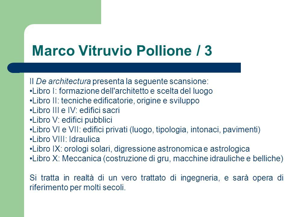 Marco Vitruvio Pollione / 3