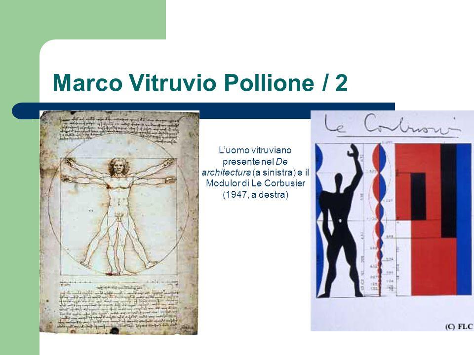 Marco Vitruvio Pollione / 2