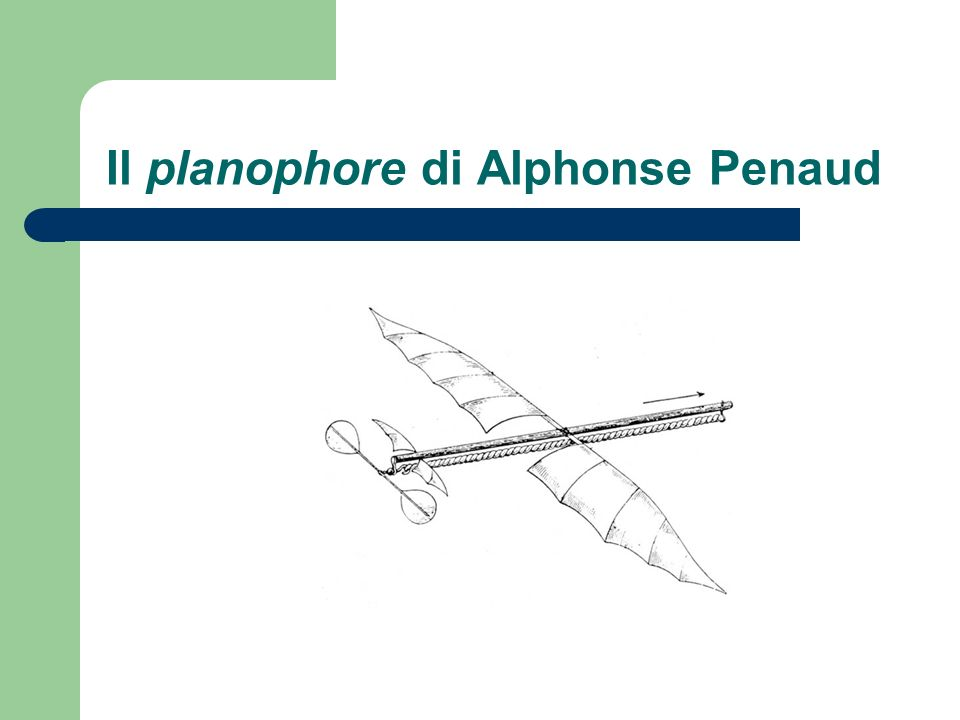 Il planophore di Alphonse Penaud