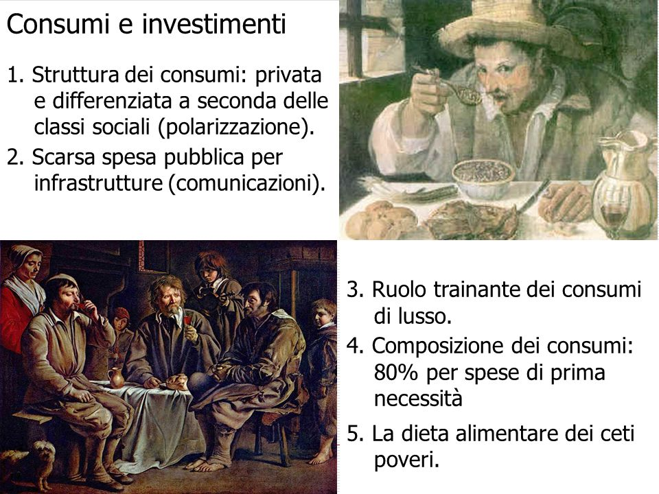 Consumi e investimenti