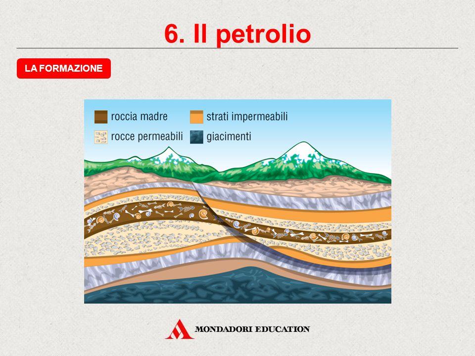 6. Il petrolio LA FORMAZIONE * *