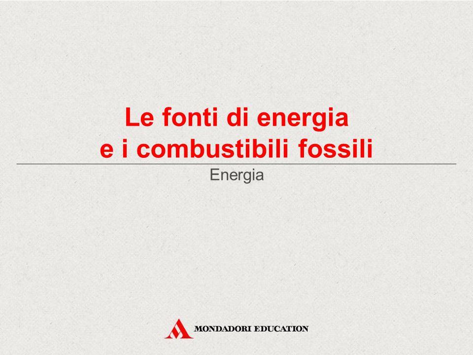 e i combustibili fossili