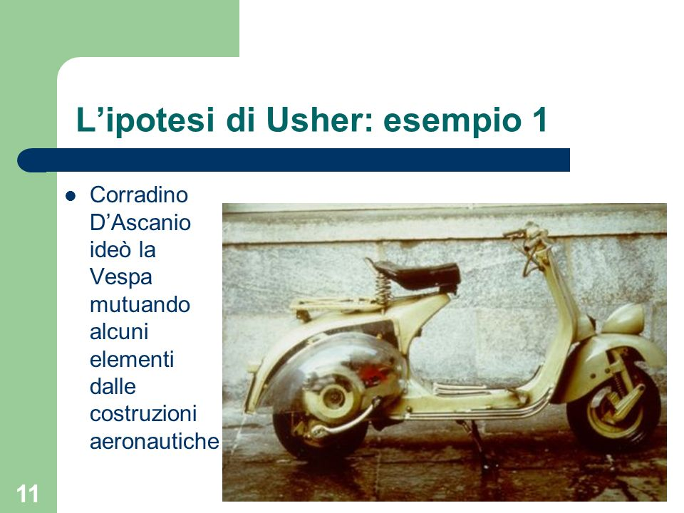 L'ipotesi di Usher: esempio 1