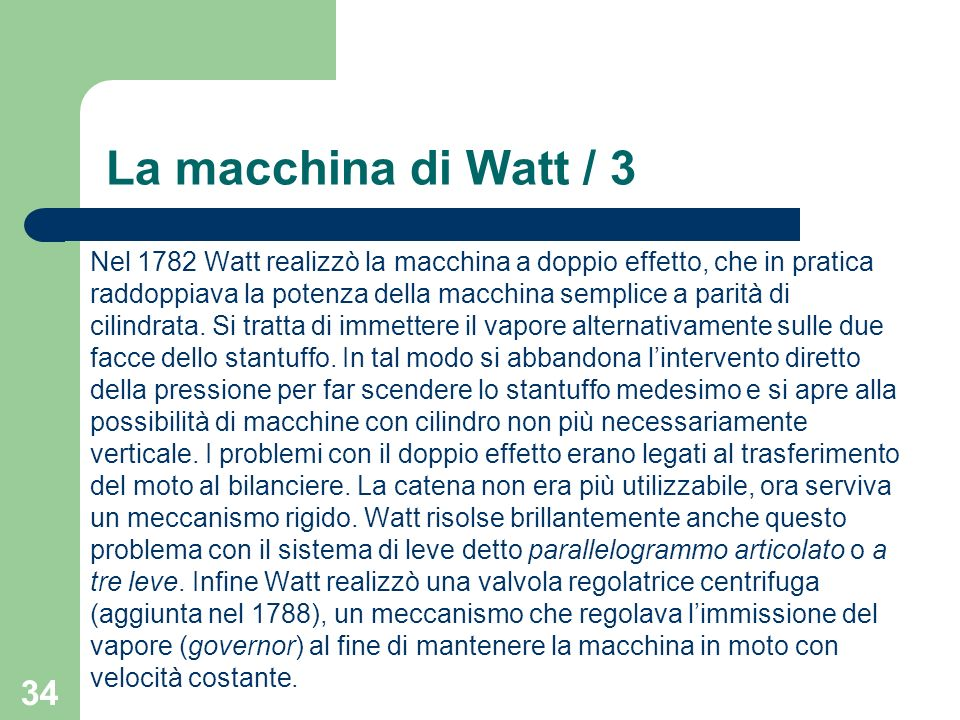 La macchina di Watt / 3