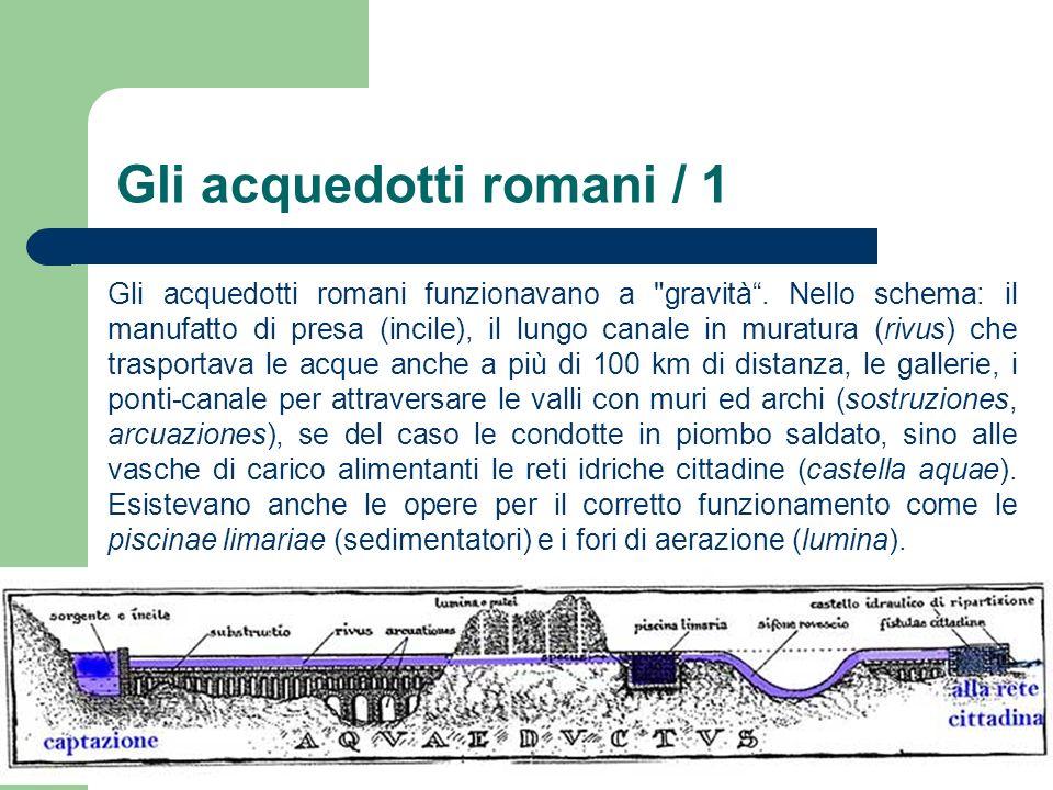 Gli acquedotti romani / 1