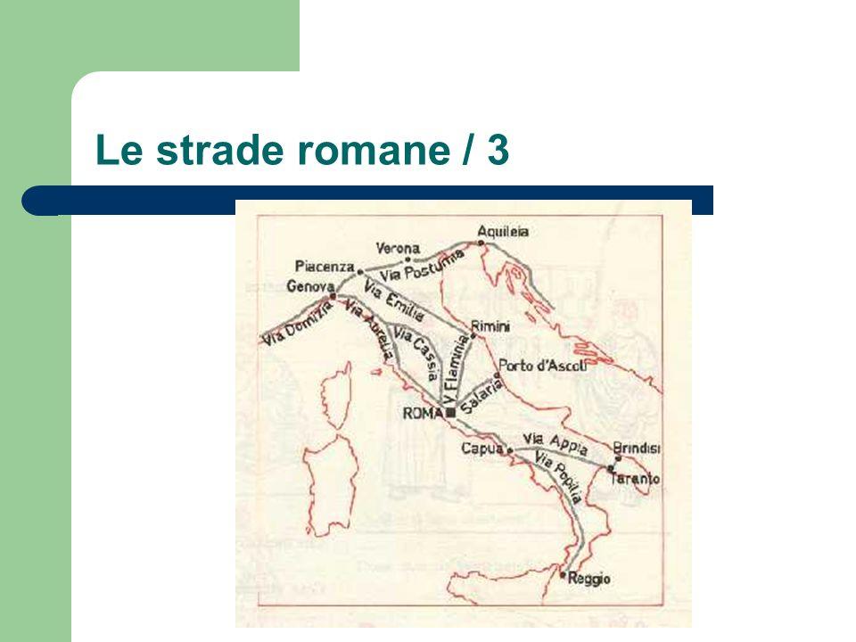 Le strade romane / 3