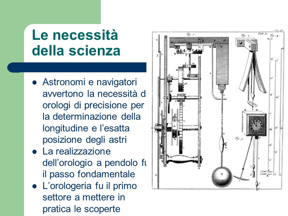 Le necessità della scienza