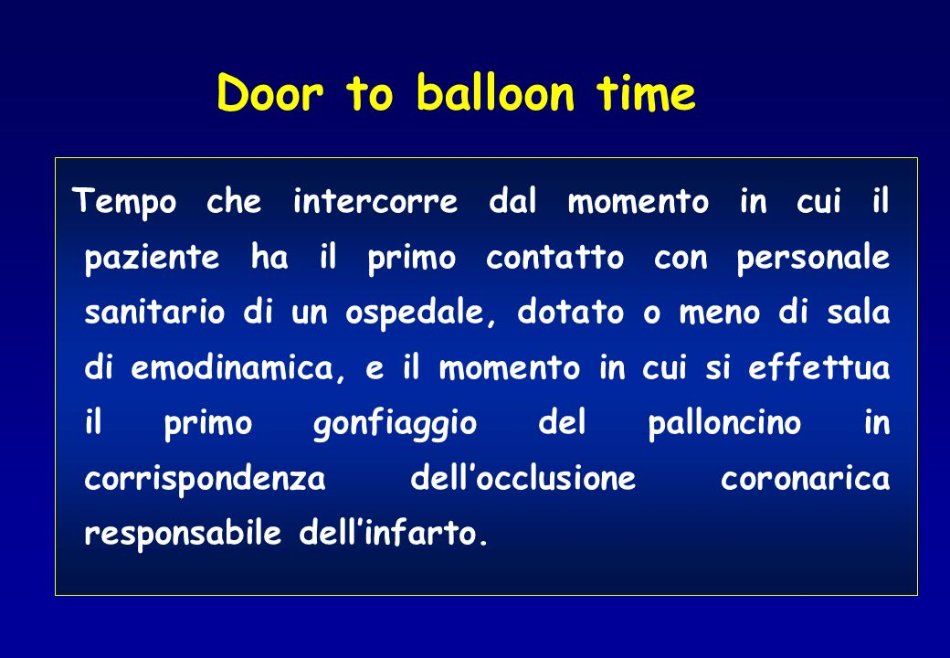 Door to balloon time