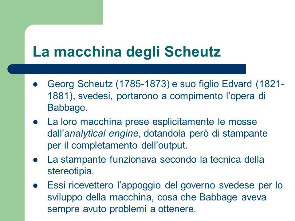 La macchina degli Scheutz