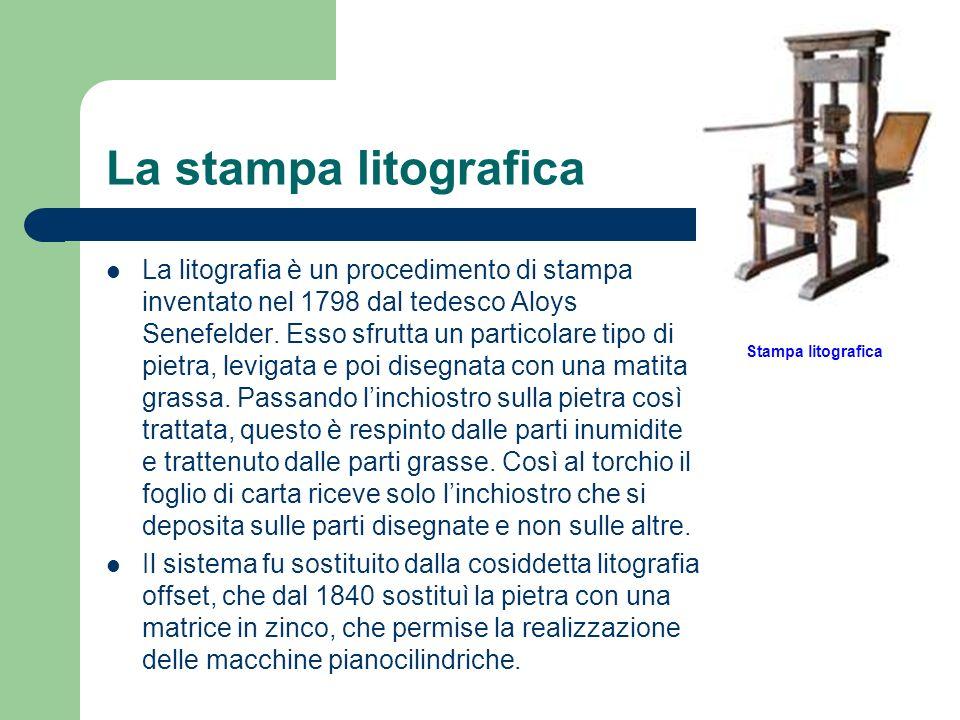 La stampa litografica