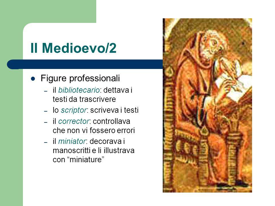 Il Medioevo/2 Figure professionali