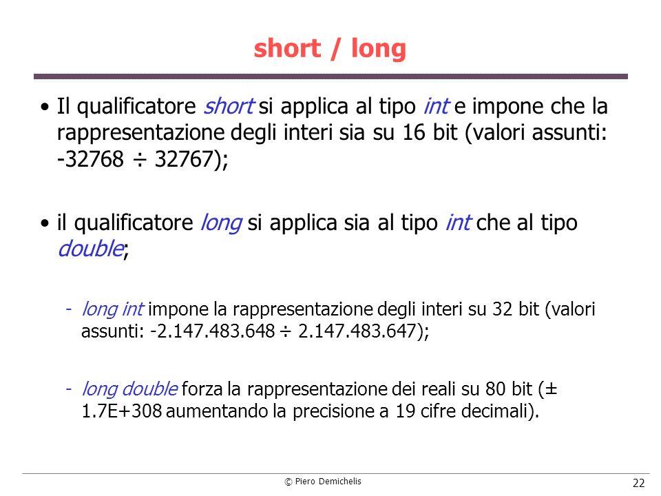 short / long
