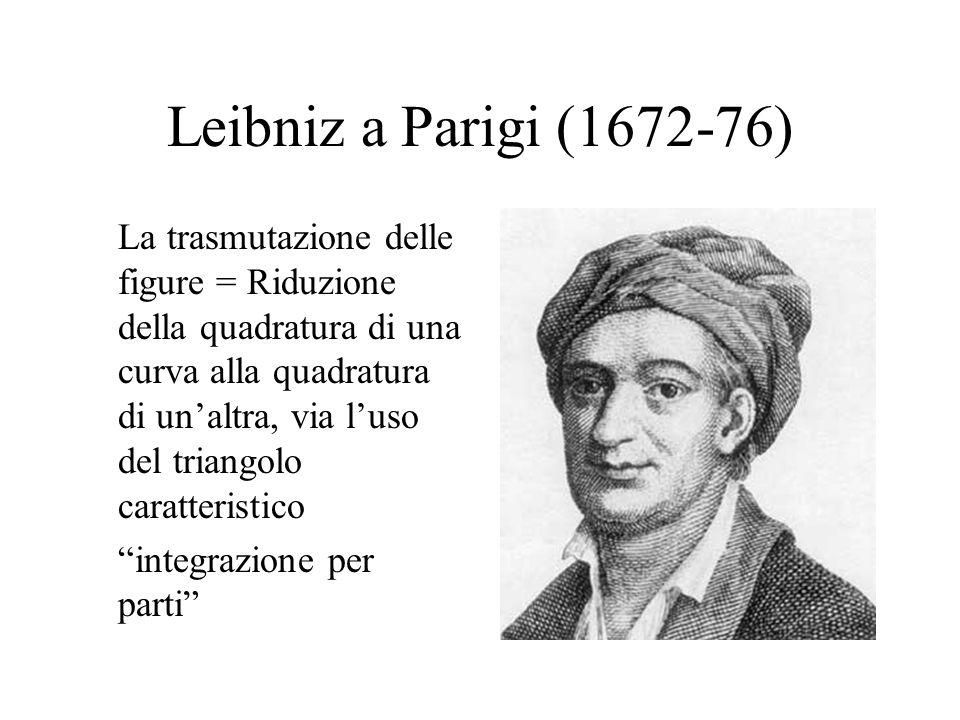 Leibniz a Parigi (1672-76)