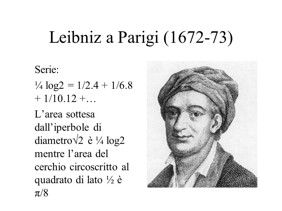Leibniz a Parigi (1672-73)