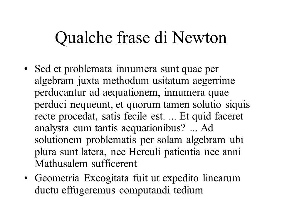 Qualche frase di Newton