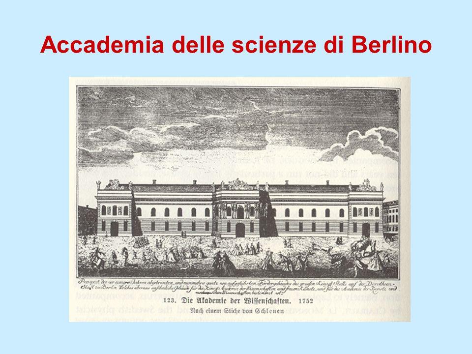 Accademia delle scienze di Berlino