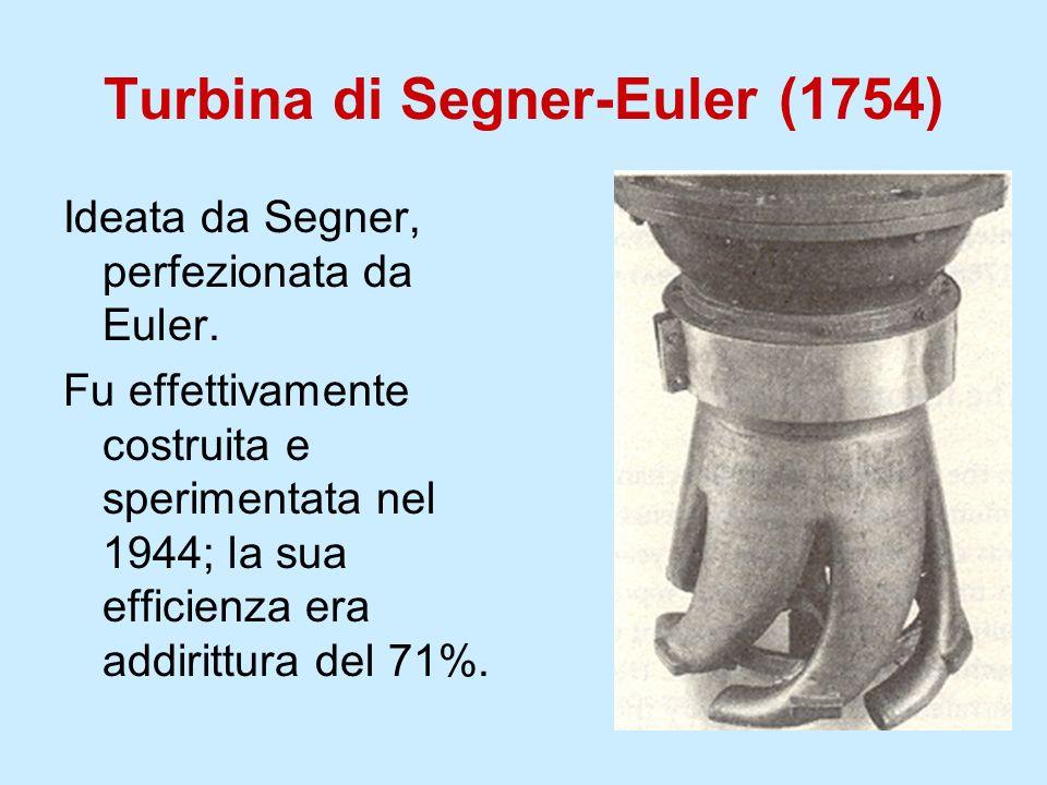 Turbina di Segner-Euler (1754)