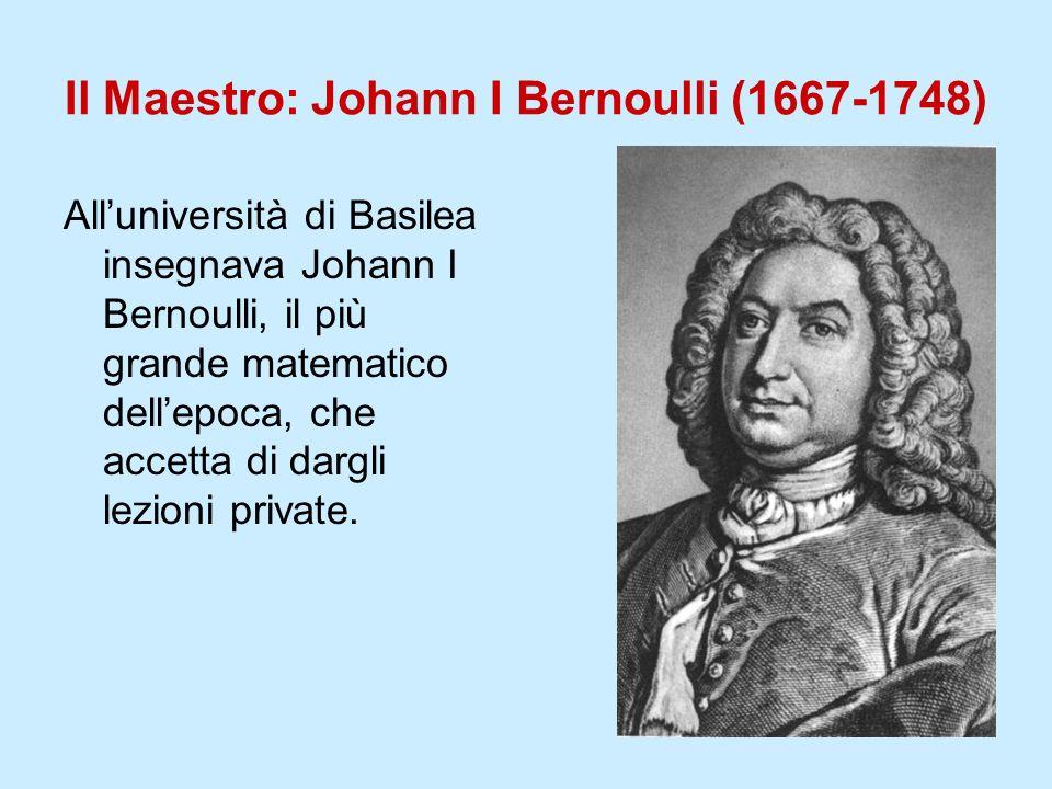 Il Maestro: Johann I Bernoulli (1667-1748)