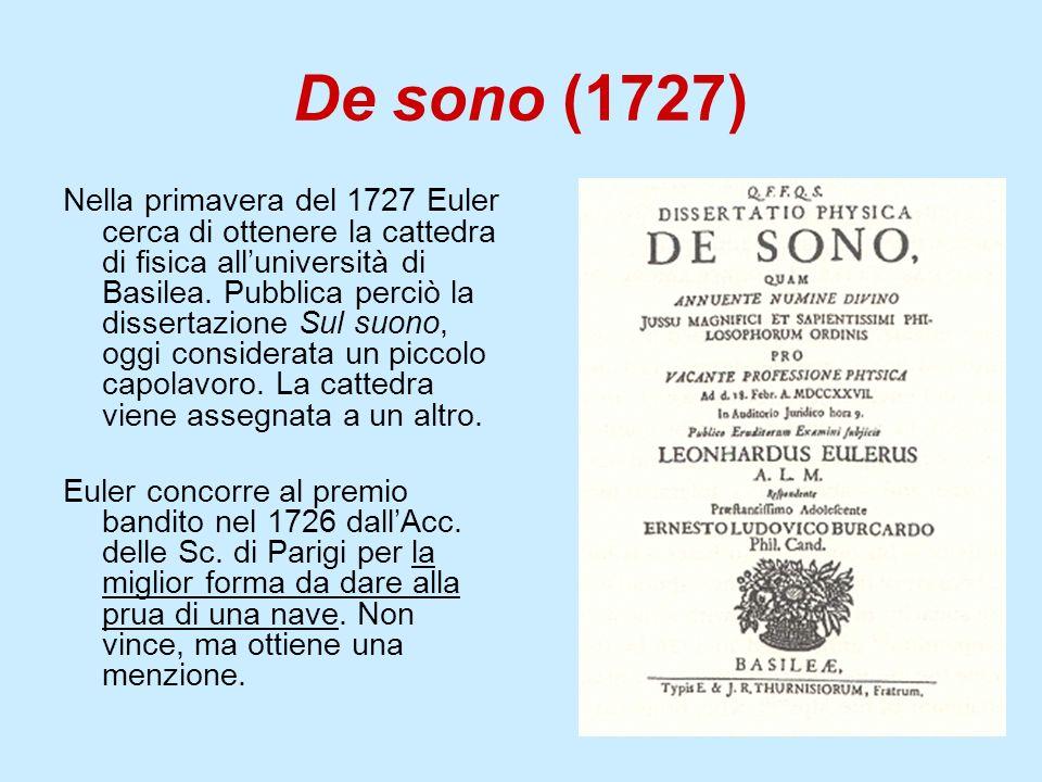De sono (1727)