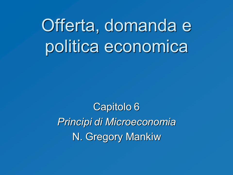 Offerta, domanda e politica economica