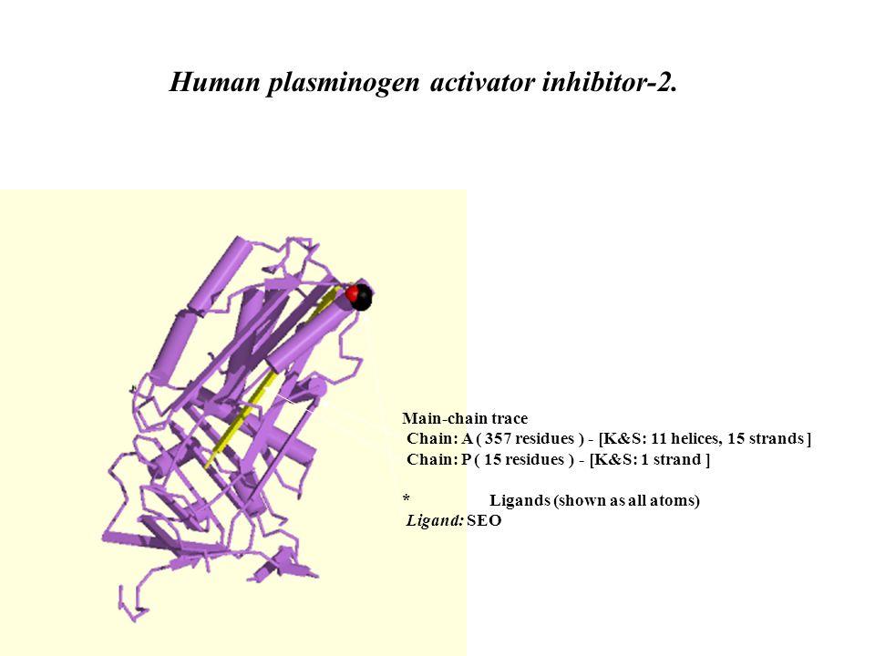 Human plasminogen activator inhibitor-2.