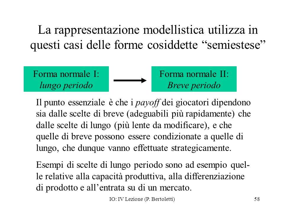 La rappresentazione modellistica utilizza in questi casi delle forme cosiddette semiestese