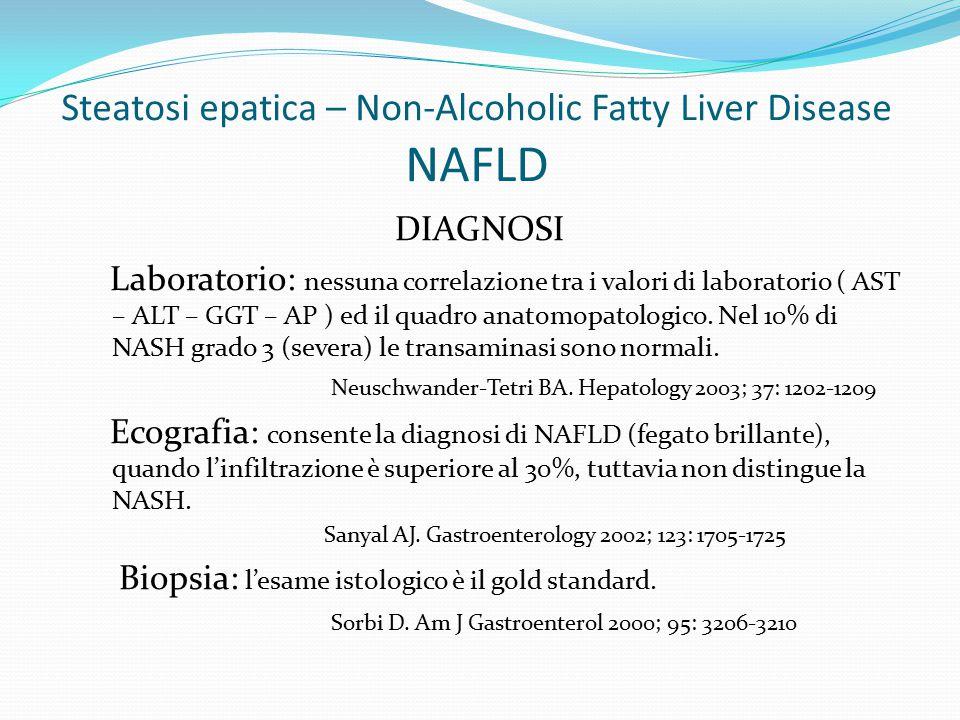 Steatosi epatica – Non-Alcoholic Fatty Liver Disease NAFLD