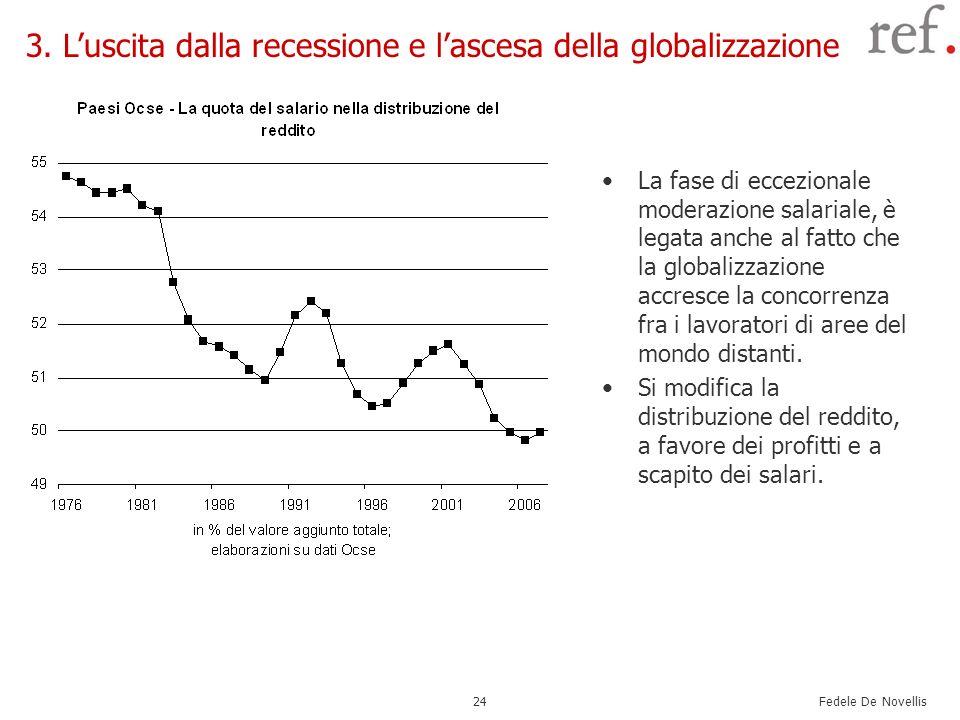 3. L'uscita dalla recessione e l'ascesa della globalizzazione