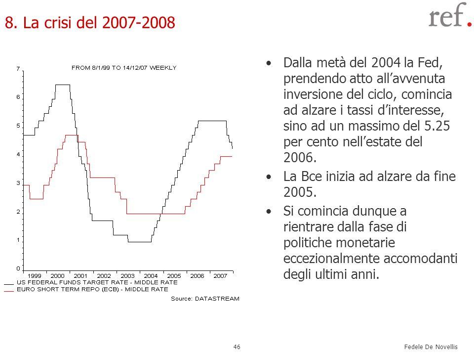 8. La crisi del 2007-2008