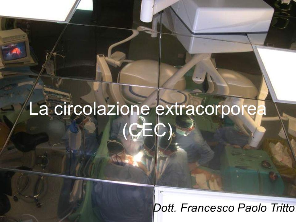 La circolazione extracorporea (CEC)