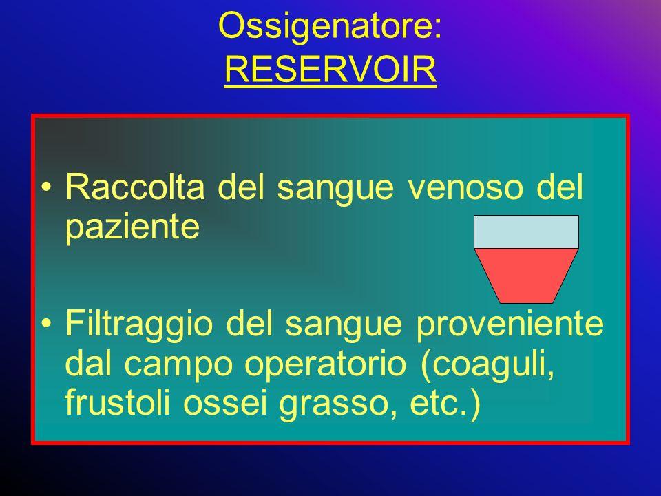 Ossigenatore: RESERVOIR