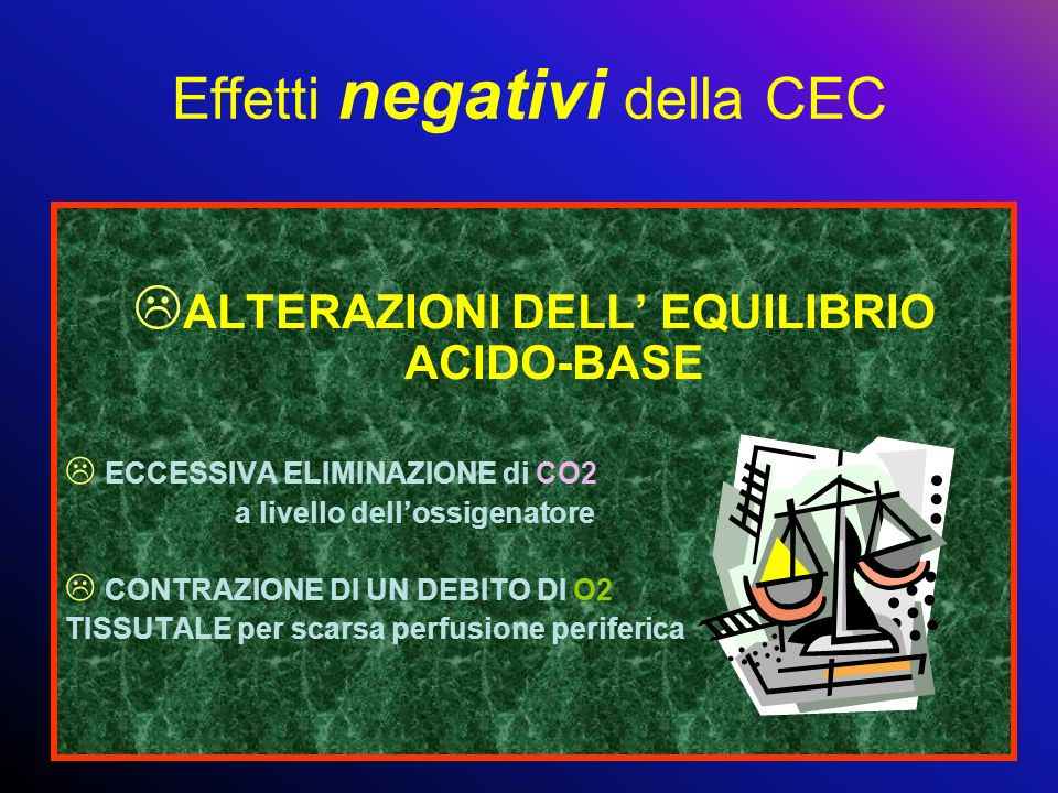 ALTERAZIONI DELL' EQUILIBRIO ACIDO-BASE