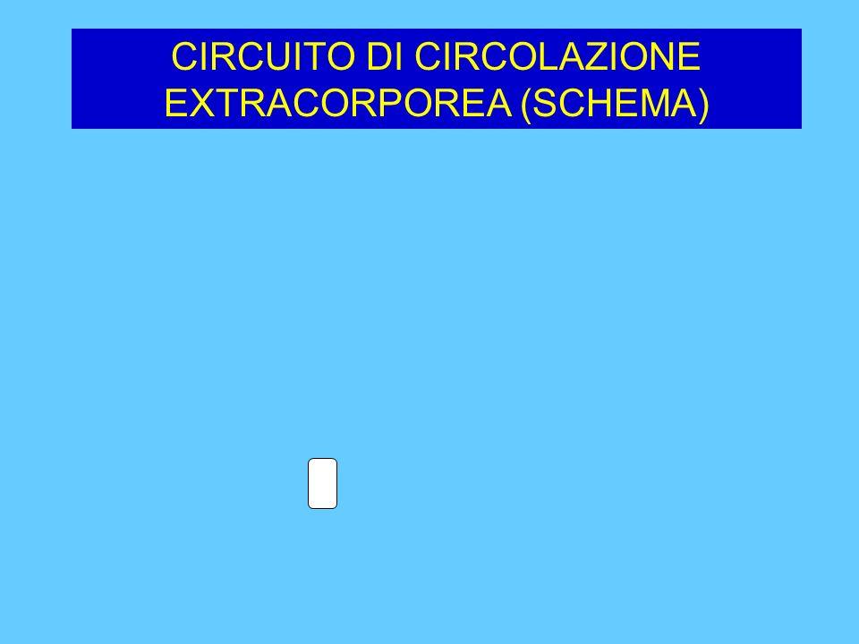 CIRCUITO DI CIRCOLAZIONE EXTRACORPOREA (SCHEMA)