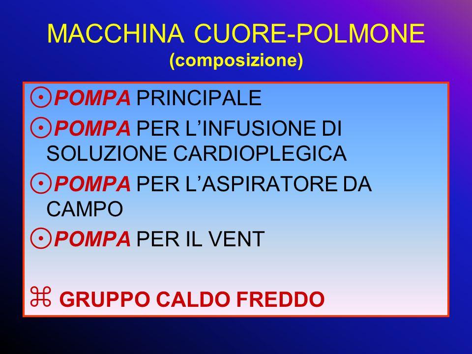 MACCHINA CUORE-POLMONE (composizione)