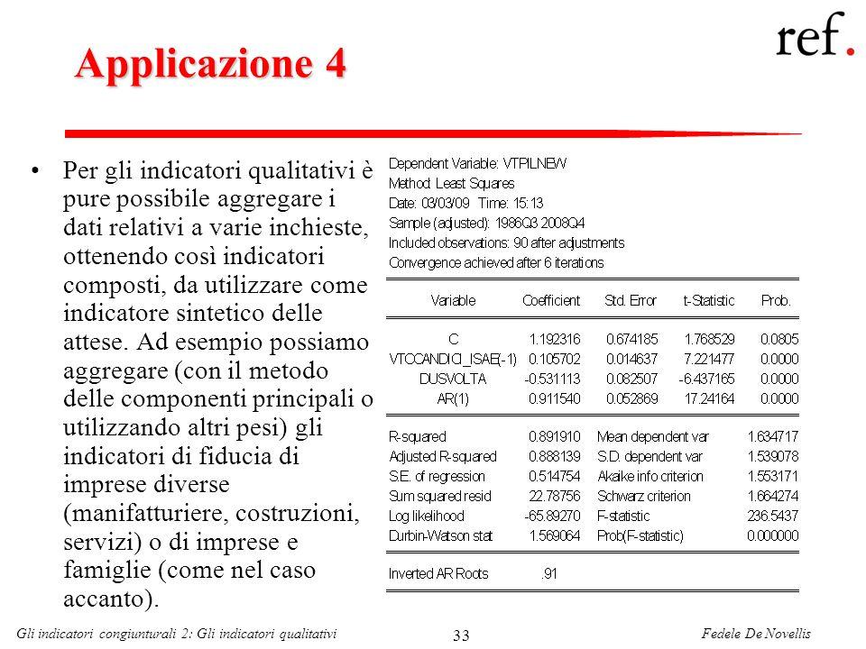 Applicazione 4