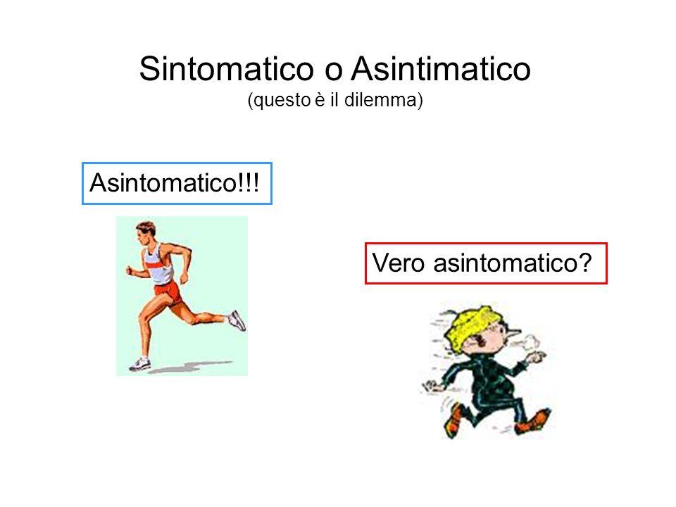 Sintomatico o Asintimatico
