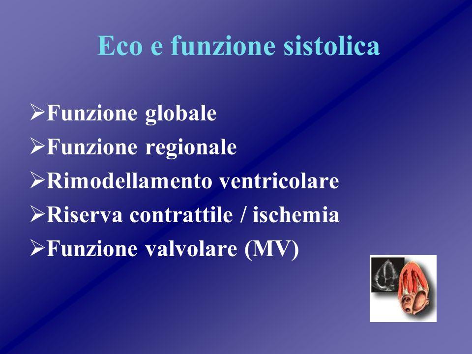 Eco e funzione sistolica