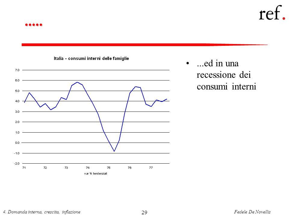 ..... ...ed in una recessione dei consumi interni 29