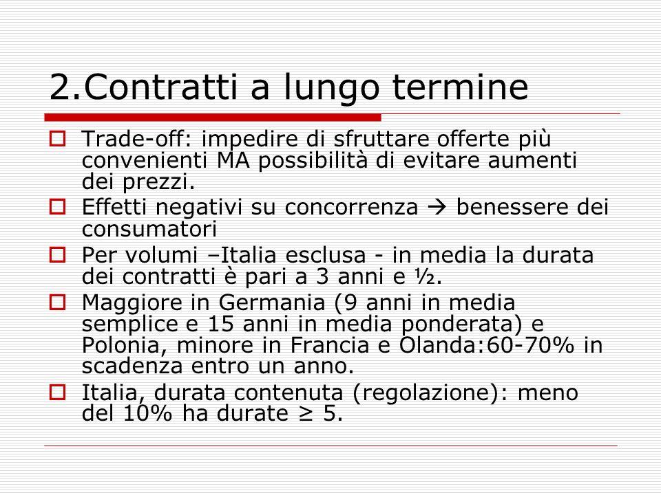 2.Contratti a lungo termine