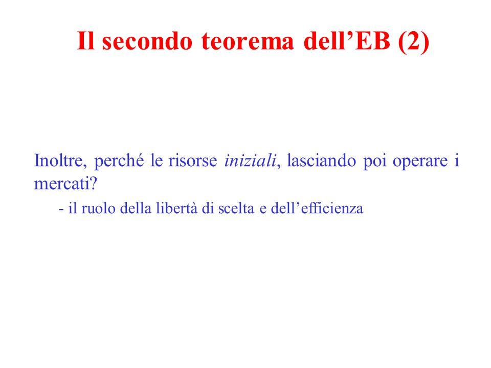 Il secondo teorema dell'EB (2)