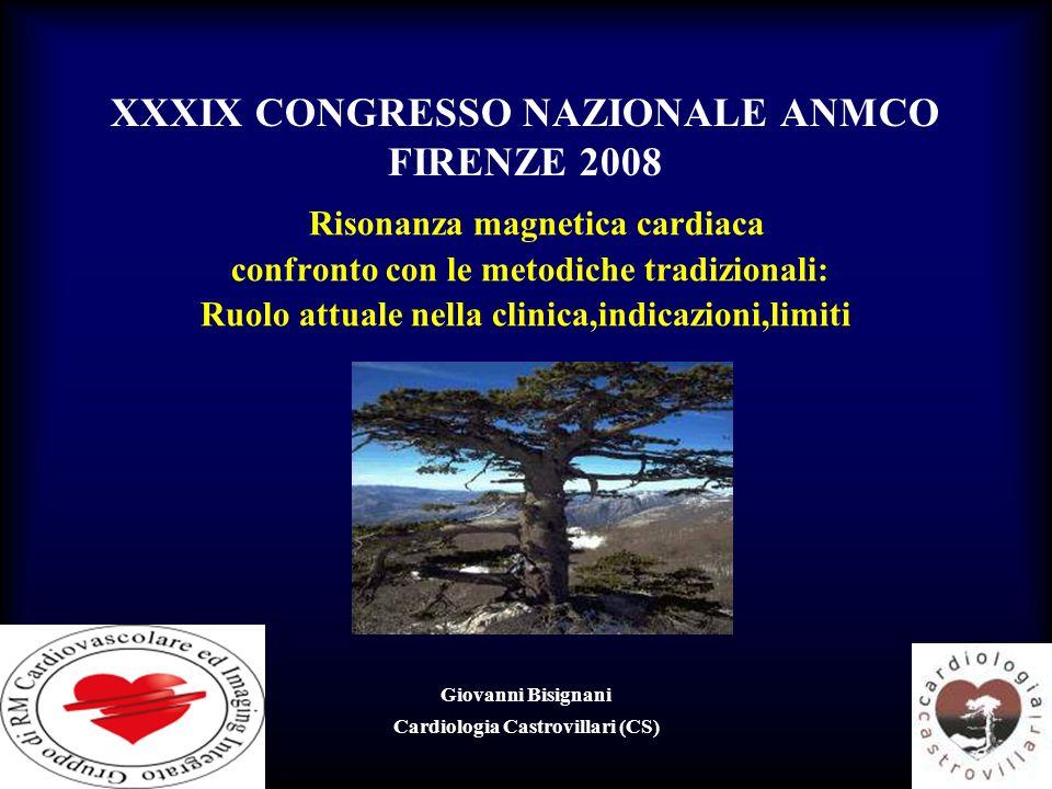 XXXIX CONGRESSO NAZIONALE ANMCO FIRENZE 2008