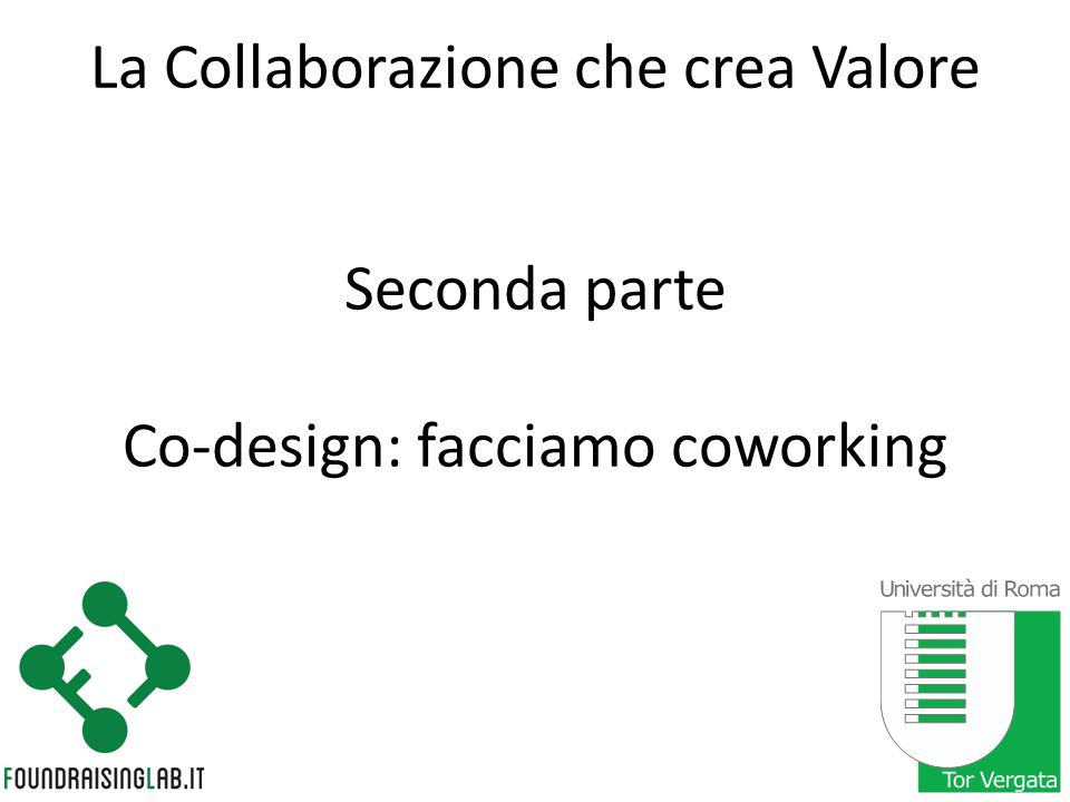 La Collaborazione che crea Valore