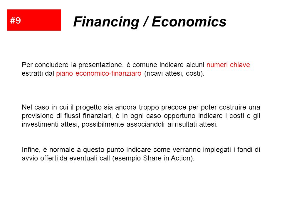 Financing / Economics #9