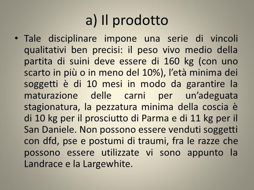 a) Il prodotto