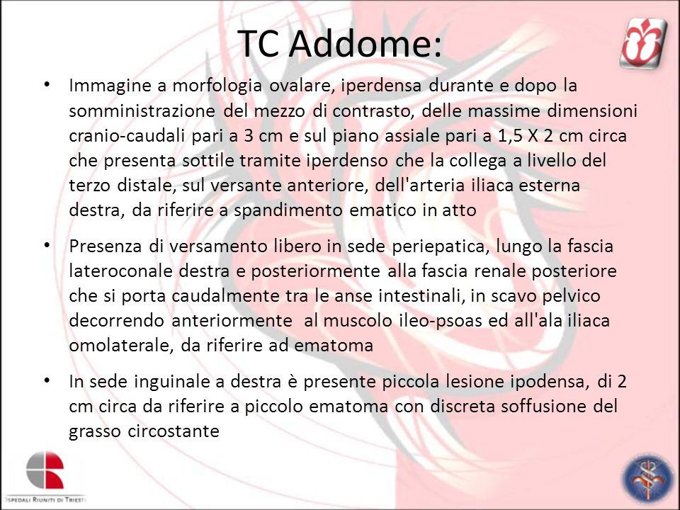 TC Addome: