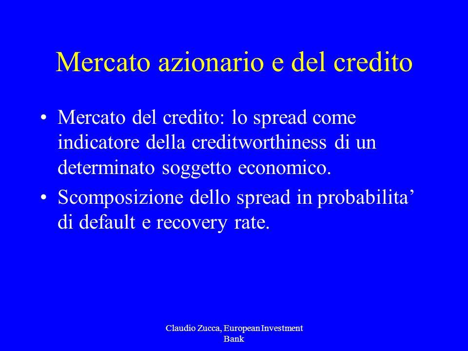 Mercato azionario e del credito