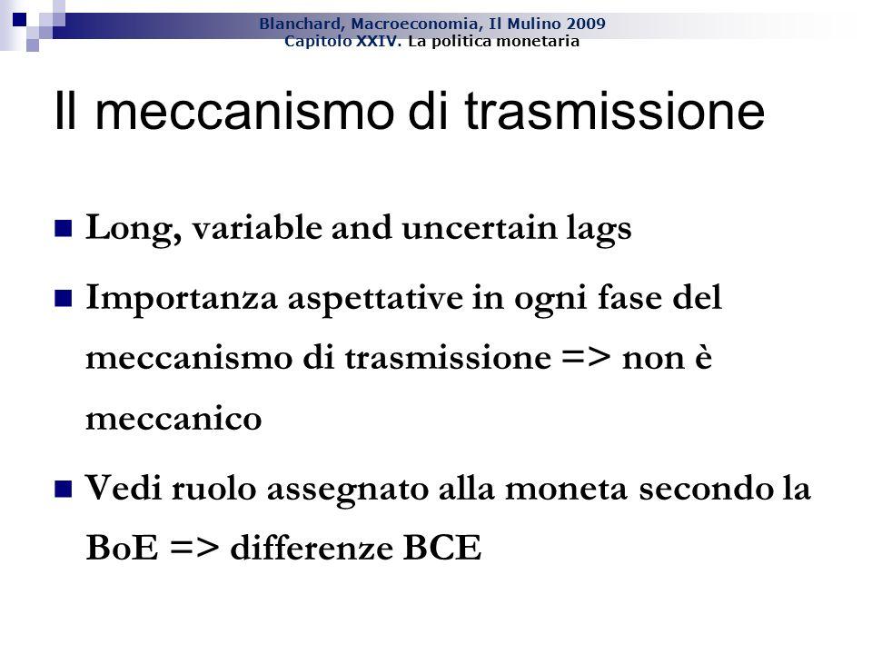 Il meccanismo di trasmissione
